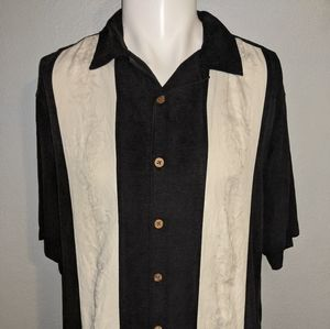 Island Republic Silk Casual Shirt Large Excellent
